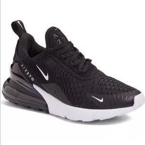 Nike Air Max 270 Sneaker Flats Shoes sz 12 Black